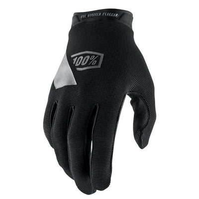 100% Ridecamp Long Finger Gloves - Black