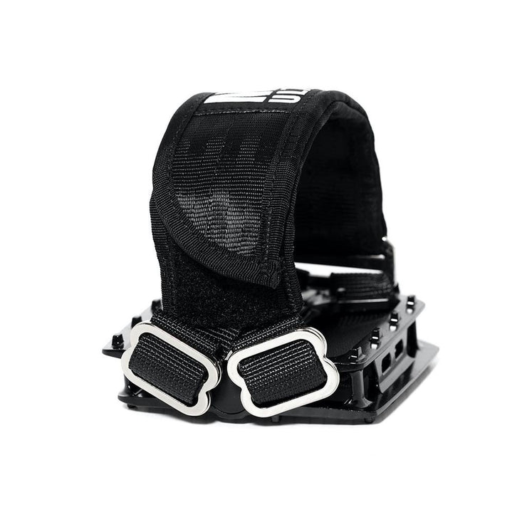 MKULTRA StraitJacket Pedal Straps x SGB - Blackout