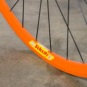 NOS Orange Velocity Deep V Track Wheel - Rear