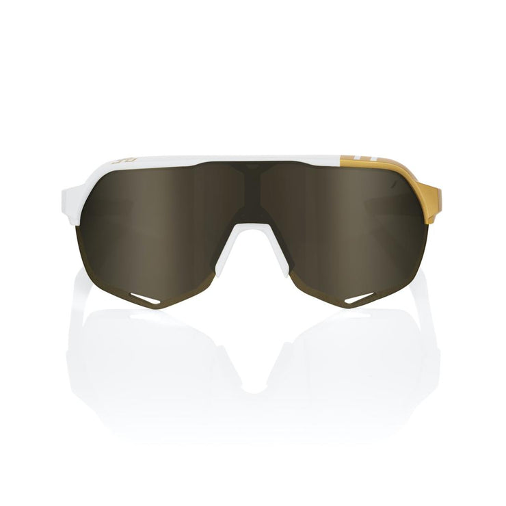 100% S2 - Limited Edition Peter Sagan - White Gold - Gold Mirror Lens