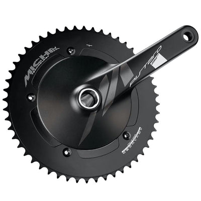 Miche Pistard Air Crankset & Bottom Bracket - 170mm - 49T - Black