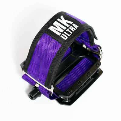 MKULTRA StraitJacket Pedal Straps x SGB - Purple Paranoia