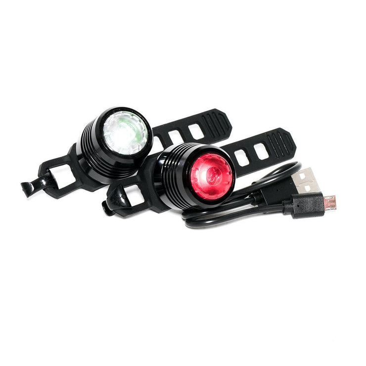 USB Rechargeable Light Set - Black
