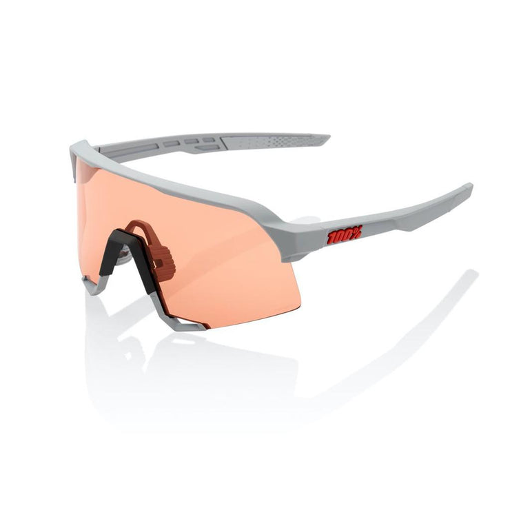 100% S3 - Soft Tact Stone Grey - HiPER Coral Lens