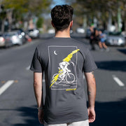 becausefixie x GEAR Shop - Bin Chicken Tee - Charcoal