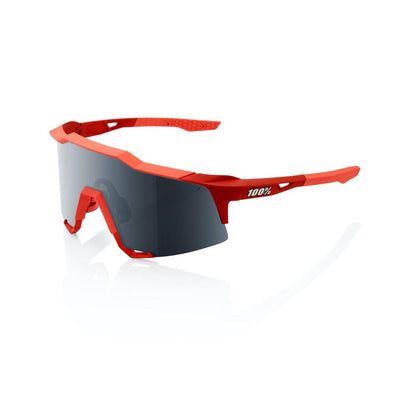 100% SPEEDCRAFT - Soft Tact Coral - Black Mirror Lens