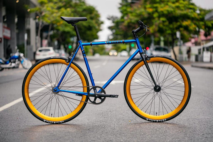 S.E. Bikes (2019) Lager - Electric Blue - 55cm