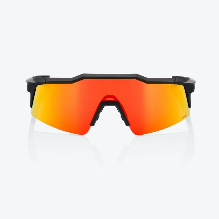 100% Speedcraft SL - Soft Tact Black - HiPer Red Multilayer Lens