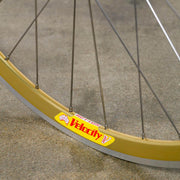 NOS Gold Velocity Deep V Track Wheel - Front