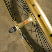 NOS Gold Velocity Chukker Track Wheel - Front