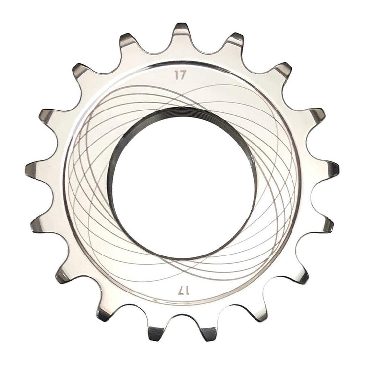 Bespoke Chainrings Track Sprocket - Polished Stainless Steel