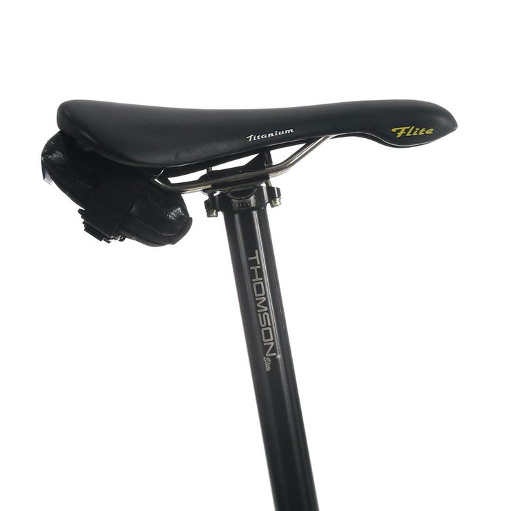 SkinGrowsBack Plan B Nano Saddle Bag - Black