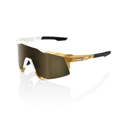 SOLD OUT - 100% Speedcraft - Limited Edition Peter Sagan - White Gold - Gold Mirror Lens