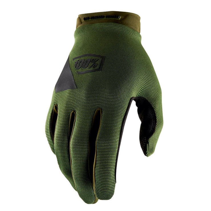 100% Ridecamp Long Finger Gloves - Fatigue
