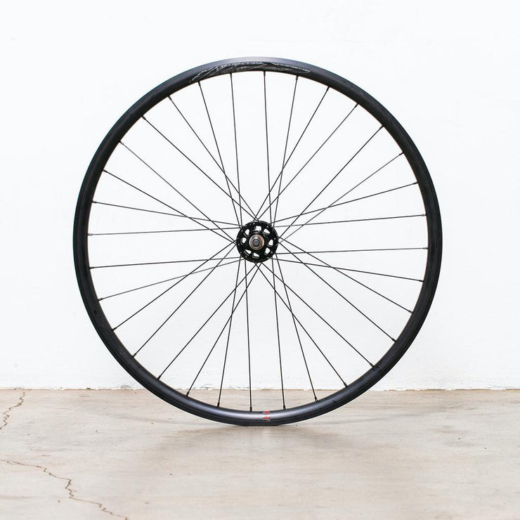 Velocity Quill 32H Track Wheelset - Radial Front, 2X Rear - Velocity Hubs