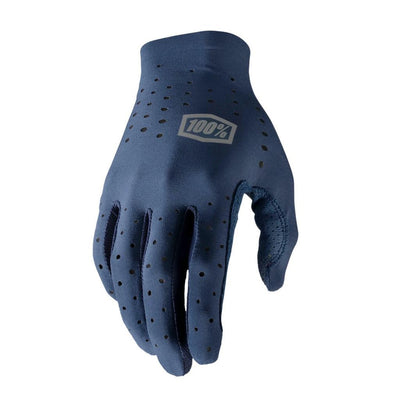 100% Sling Long Finger Glove - Navy