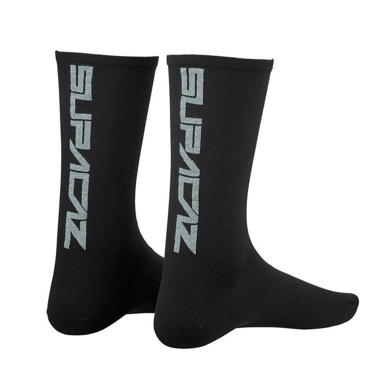"Supacaz Bling Socks ""Platinum"" - L/XL"