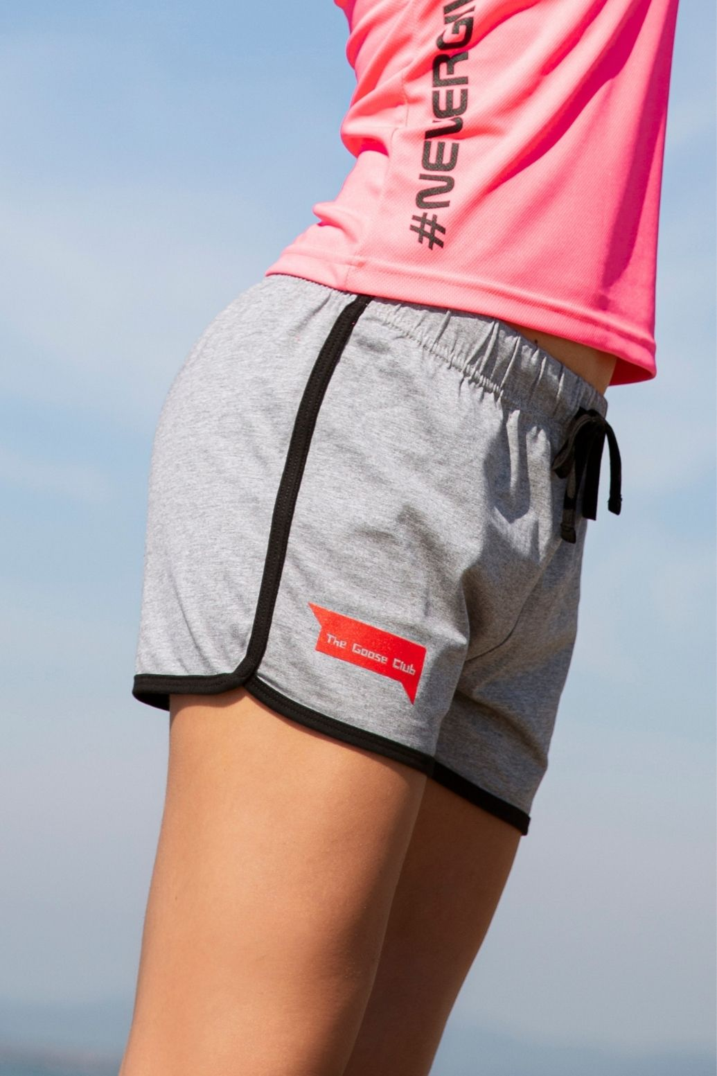 Shorts Donna #Nevergiveup