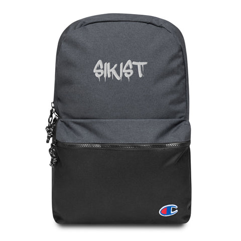 Sikist Embroidered Champion Backpack