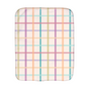 Splendid Spring - plaid/star - Burp Cloths