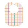 Splendid Spring - Plaid - Baby Bibs