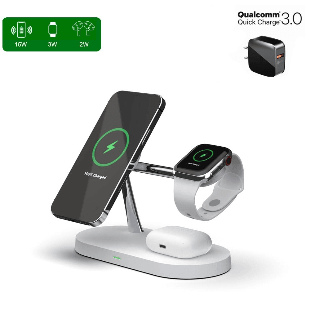 3in1_Fast_Wireless_Magnetic_Charger_Station_for_iPhone 12_QI_Charge_Pad_for_Apple_Watch_and_charging_for_Earpods