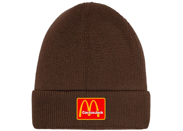 Travis Scott x McDonald's Cj Arches Beanie Brown