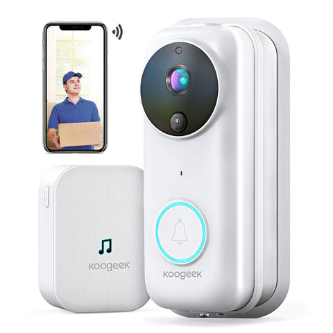 Buy the 1080p Wireless Smart Doorbell Camera - Buzztech