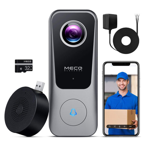 Buy the Smart Wifi Video Doorbell Camera - Buzztech