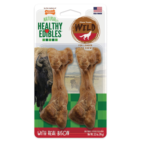 Buy the Bison Flavored Dog Chew Treats - Buzztech