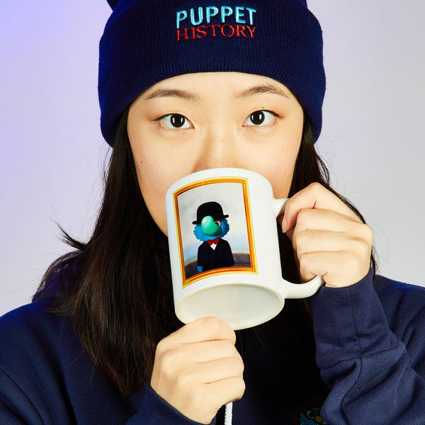 Puppet History Son of Man Mug