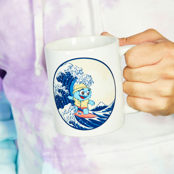 Puppet History The Great Wave Mug