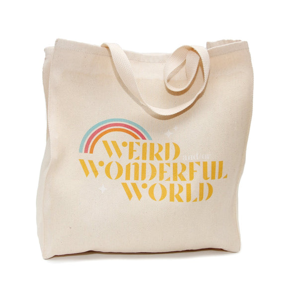 Weird and/or Wonderful World Tote