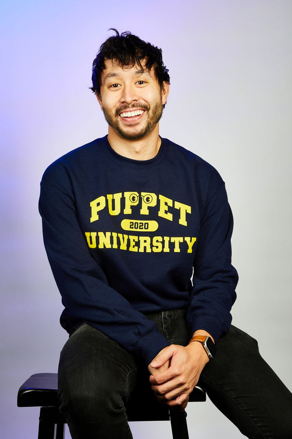 Puppet University - Gym Sweatshirt (UNISEX)