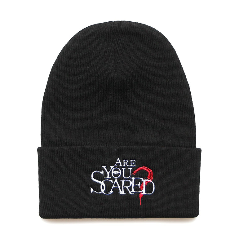 Are You Scared Beanie - Glows in the dark
