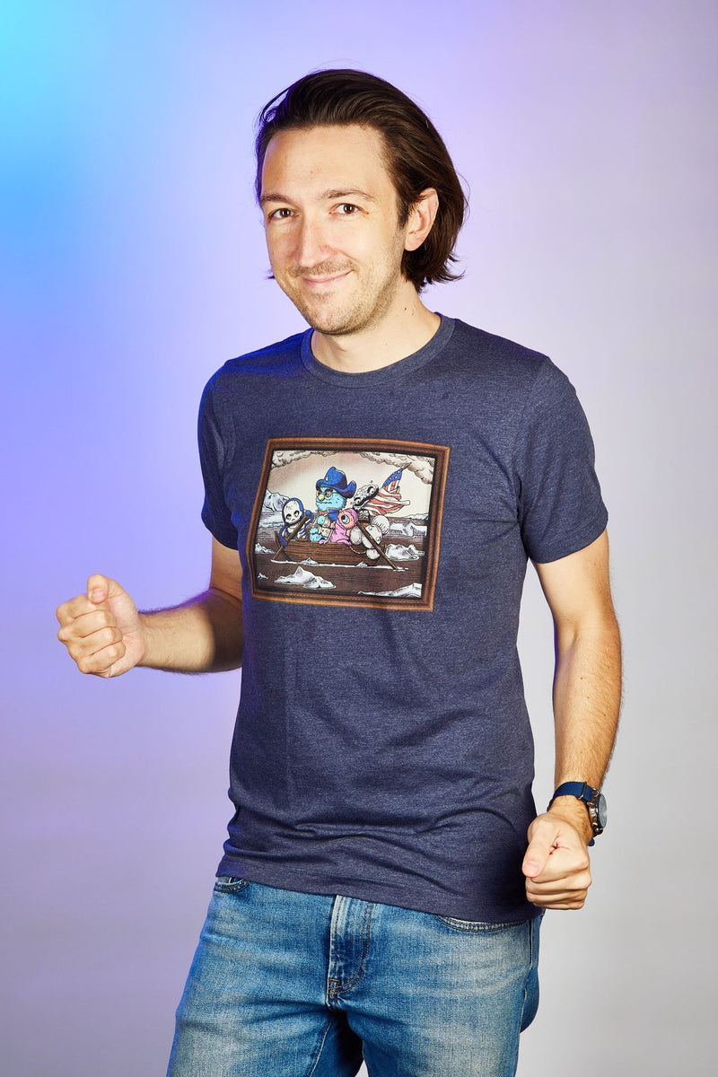 The Professor Crossing The Delaware Shirt (UNISEX)