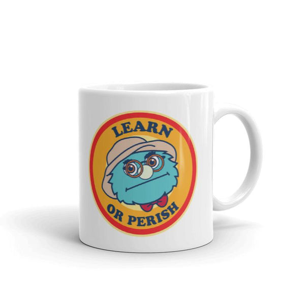 Puppet History Learn or Perish Mug