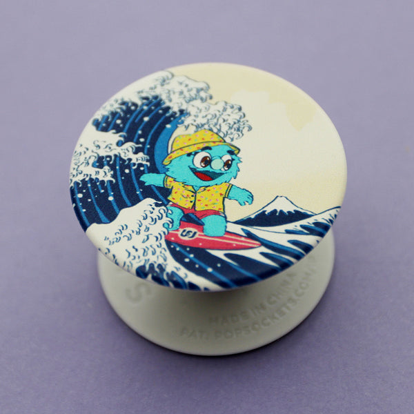 Puppet History The Great Wave Popsocket