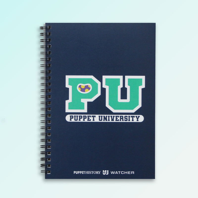 Puppet University - The Classic Spiral Notebook