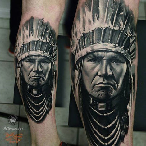 Native American Tattoos as Imprints of Life