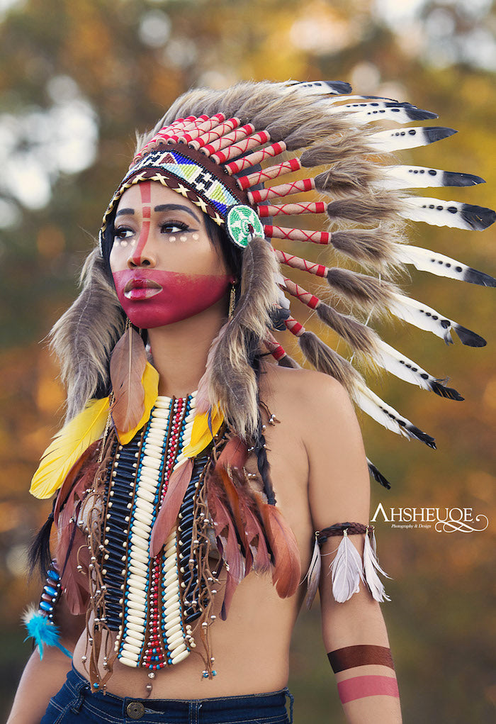 the meaning of feathers  u2013 indian headdress