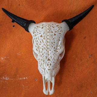 Cow Skull - Celtic