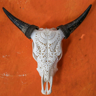 Cow Skull - Tribal 1