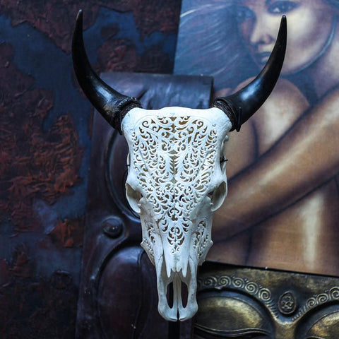 Cow Skull - Tribal 2