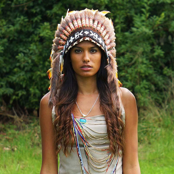 Rasta Style Indian Headdress