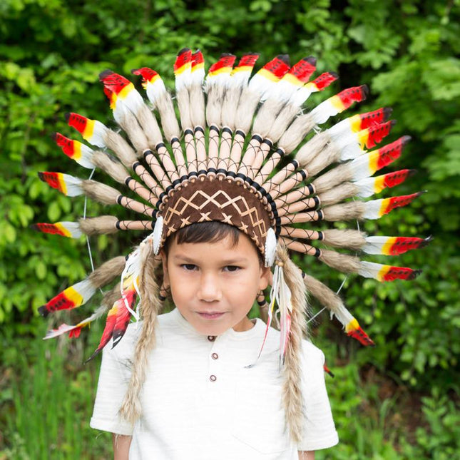 Kids Headdress - Rasta