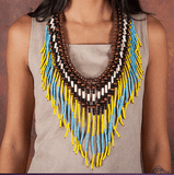 Yellow-Turquoise Necklace