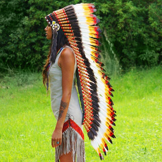 Rasta Style War Bonnet by Novum Crafts