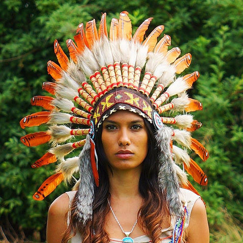 how to make an american indian headress