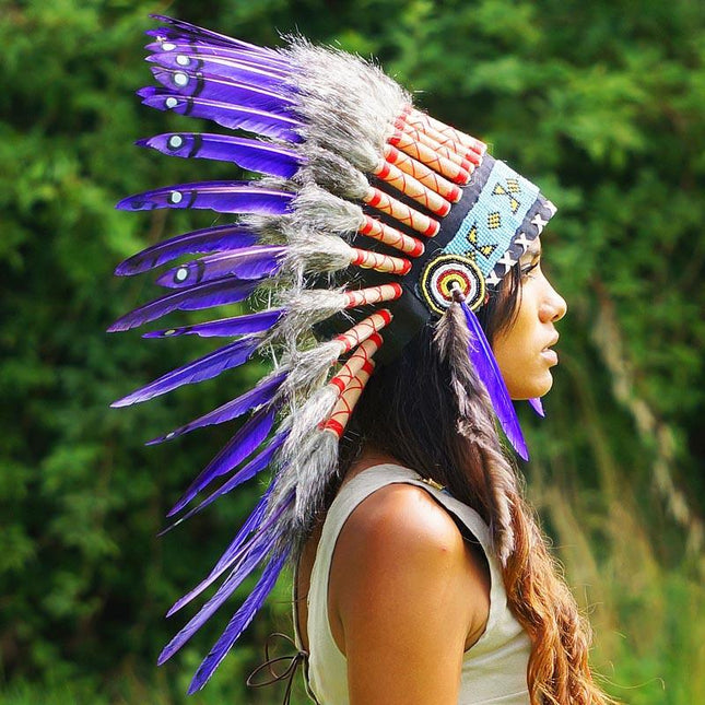 Purple Chief Headdress by Novum Crafts